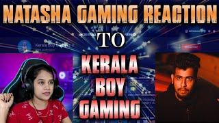 Kerala Boy in Live Chat    Natasha Reacting To Kerala Boy Gaming #keralaboy #keralaboygaming #pubg Thumb
