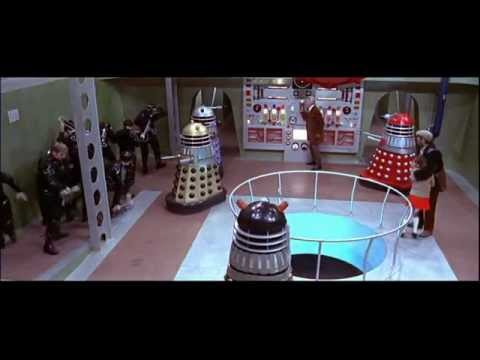 The Dalek Invasion Earth 2150 AD: Fight Scene