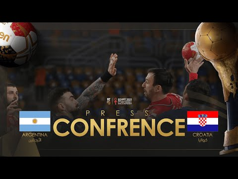 Press Conference: Argentina - Croatia | 27th IHF Men's Handball World Championship | Egypt2021