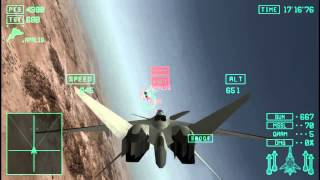The most intense dogfight of my life - Ace Combat X
