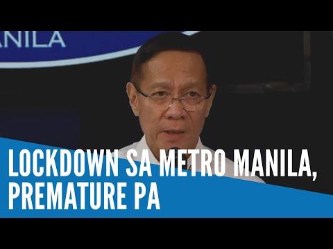 Pagpapatupad ng lockdown sa Metro Manila dahil sa COVID-19, maaga pa - DOH