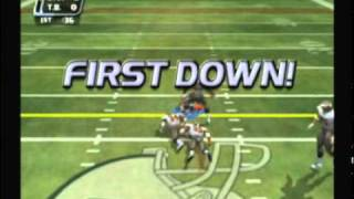 NFL Blitz 2003 - Raiders vs Buccaneers (1st Half)