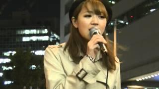 Mari7 ストリートライブ 2014.4.23 JR大阪駅前.