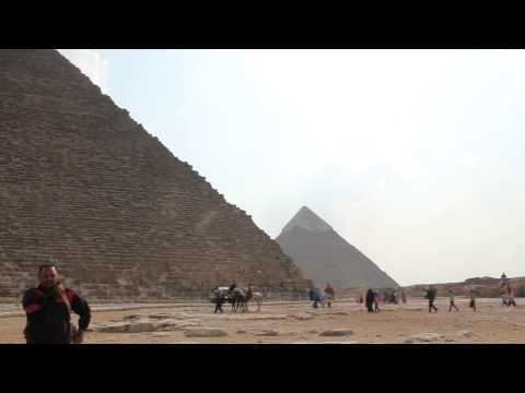 Egypt, Cairo, Giza, Pyramid (oct. 2014)