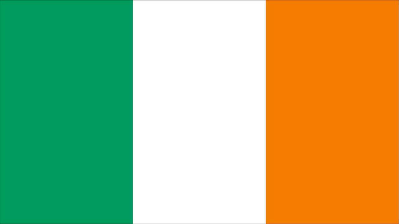 Bandeira da Irlanda - YouTube
