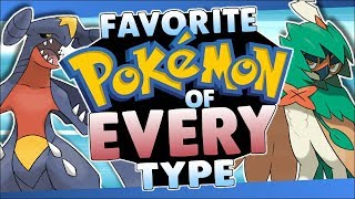 Top Favorite Pokémon of EVERY Type