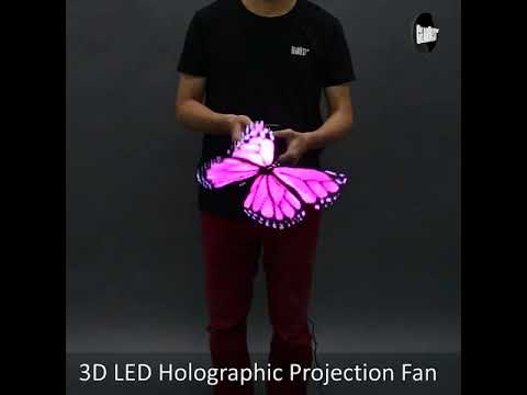 Holographic Display LED Fan 3D Advertising Machine buy it now free shipping to worldwide
