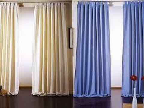 Como hacer cortinas para sala youtube for Cortina para claraboya de techo