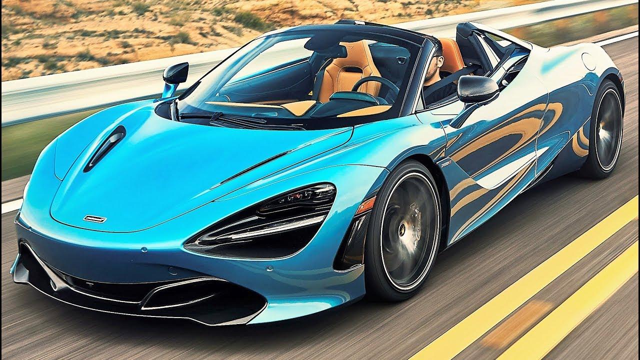 2019 Blue McLaren 720S Spider