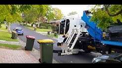 The Hills Shire Council Recycling bin collection the North Sydney garden shire #SL01106 Cleanaway