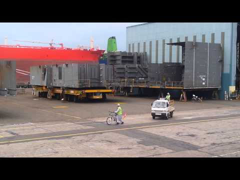 Discovery big ship work in progress D(Carring block of Ship)