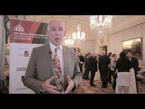 Olivier Lazare, Shell, Russian Energy Forum, London 2016
