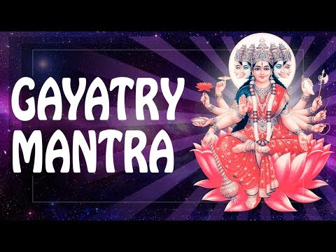VERY POWERFUL MANTRA GAYATRI GET RICH mantra for Wealth ॐ 2018 horoscope for Business (PM) 2018