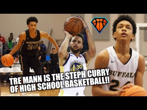 Tre Mann is the STEPH CURRY of High School Basketball!! | Official MAIT Mixtape