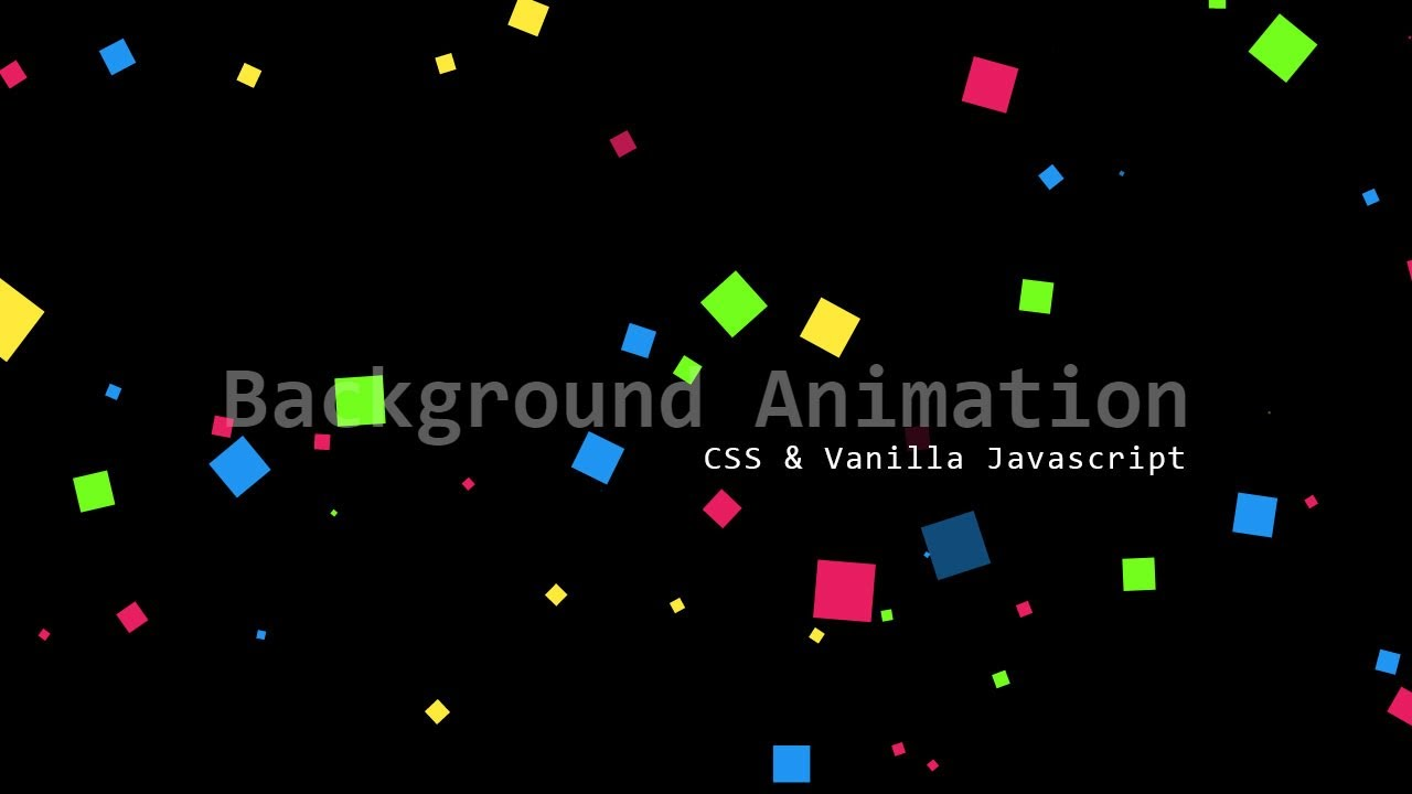Cool Background Animations Css