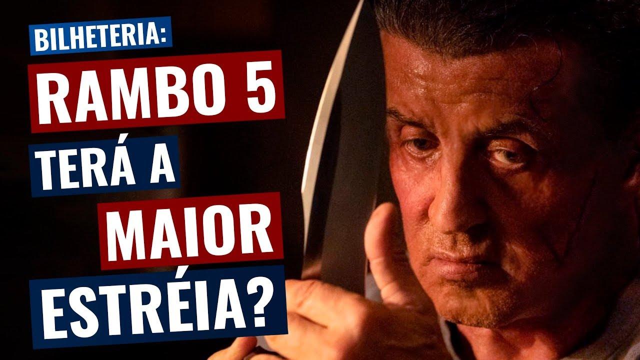 Rambo Até o Fim pode ter a MAIOR ESTRÉIA da franquia! MAS...