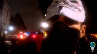 Jah Is Coming For You - Million Mask March London Protest 5th Nov 2015