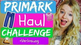 PRIMARK HAUL CHALLENGE + VERLOSUNG♥ mit RealNathaLee | März 2016 | TRY ON | Flora Mona ♥