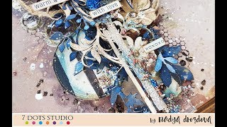 Step-by-step Mixed-media LO for 7Dotsstudio
