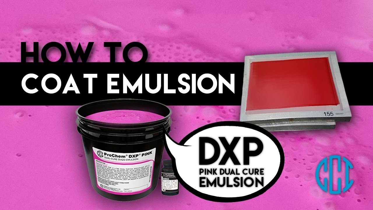 Screen Printing - How to Coat Emulsion