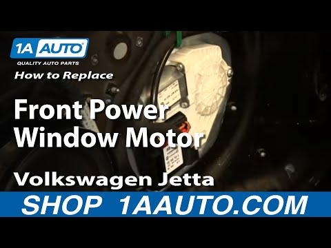 How to Replace Front Power Window Motor 05-10 Volkswagen Jetta