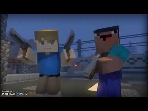 """Клип """"Бада Бум"""" (minecraft Server Hypixel Mini Game Zombie)"""