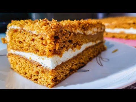 Домашний Медовый Торт. Как приготовить самый вкусный медовый торт.