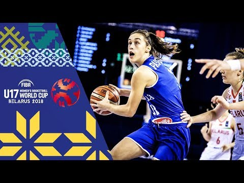 Belarus v Italy - Full Game - Round of 16 - FIBA U17 Women's Basketball World Cup 2018