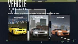 Camaro, Mustang y BRZ - ¿Cuál es el mejor coche de inicio? RobLOX Simulador de Vehículo