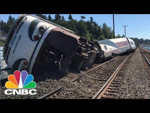 Amtrak Train Derails Near Olympia, Washington   CNBC