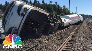 Video Amtrak Train Derails Near Olympia, Washington | CNBC download MP3, 3GP, MP4, WEBM, AVI, FLV Januari 2018