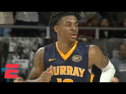 Ja Morant makes history in Murray State's blowout win | College Basketball Highlights