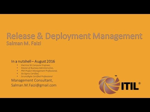 Real World ITIL Release and Deployment Planning - Easy to Understand