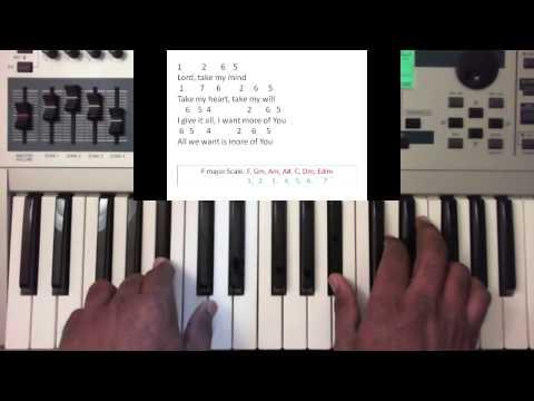 Take Over - Tye Tribbett (feat. Lowell Pye) Piano Tutorial