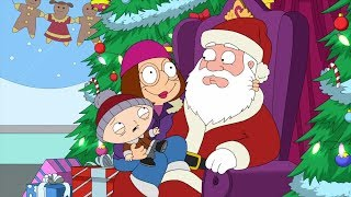 "Family Guy - Meg gets her first ""Big O"" from sitting on Santa's lap"