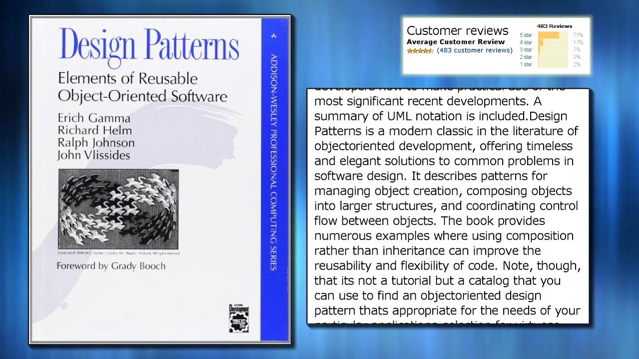 Object Oriented Design Patterns New Ideas