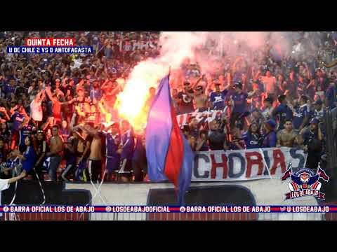 LOS DE ABAJO - U DE CHILE 2 vs ANTOFAGASTA 0 (04/03/2018)