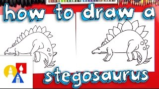 How To Draw A Stegosaurus