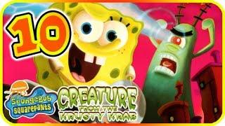 SpongeBob SquarePants: Creature from the Krusty Krab Walkthrough Part 10 (PS2, GCN, Wii) Level 6