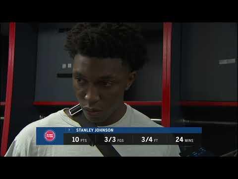 Pistons LIVE Postgame 10.20.17: Stanley Johnson