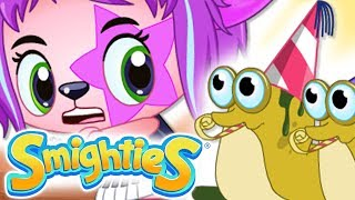 Smighties - Creepy Crawlies Troubles & Cleaning Dirt |Cartoons For Kids |Children's Animation Videos