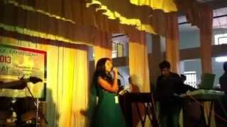 Download Sandra Kurian sings andelonde full feat MP3 song and Music Video