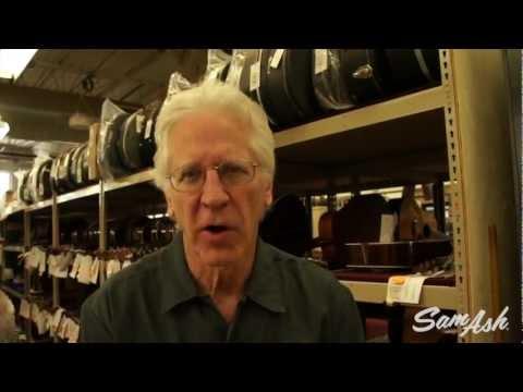 Martin Guitar Factory Tour with Dick Boak