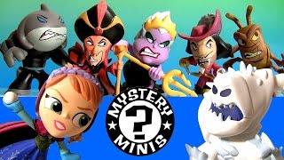 25 Disney Heroes vs. Villains Mystery Minis SURPRISE BOXES Frozen Anna Elsa Ariel Stitch Aladdin