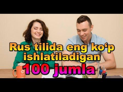Rus Tilida Eng Ko`p Ishlatiladigan 100 Jumla. AUDIODARSLIK🎧 3-QISM.