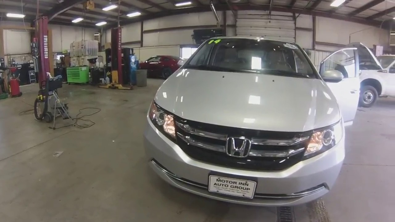 2017 Honda Odyssey Slt4461a At Motor Inn Of Spirit Lake