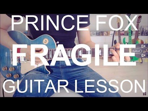 Prince Fox feat. Hailee Steinfeld: Fragile (GUITAR TUTORIAL/LESSON#223)