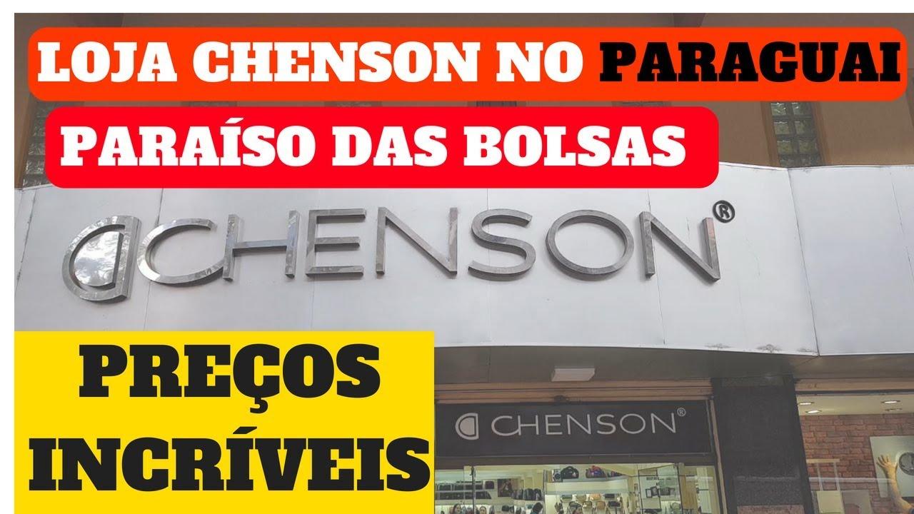 656b07a73 LOJA CHENSON NO PARAGUAI. PARAÍSO DAS BOLSAS. ÓTIMOS PREÇOS - YouTube