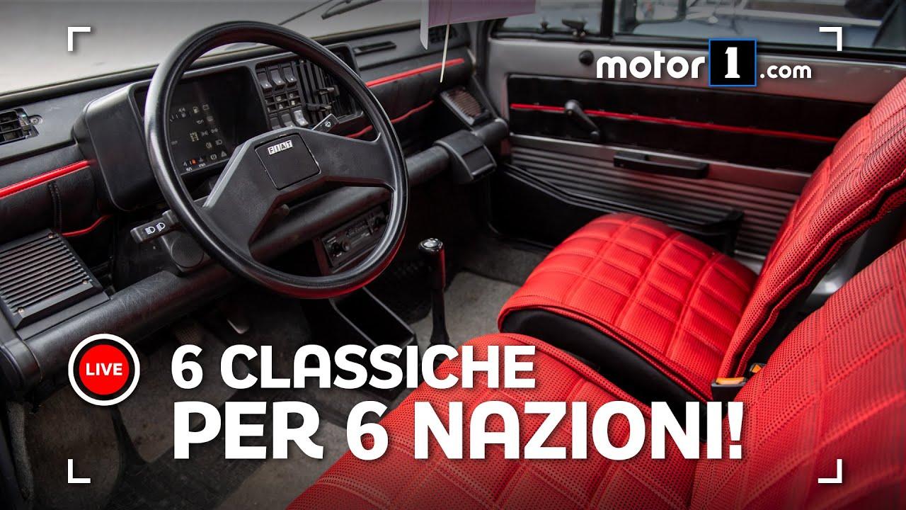Download 6 auto (classiche) per 6 nazioni: le finaliste a Padova!