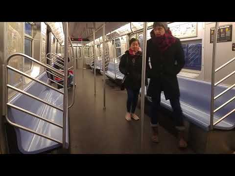 MTA NYCT Subway On-Board: Jamaica 179 St R160A F Via The D(Coney Island-18th Ave)